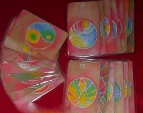 Spiel der Rose - Spielkarten
