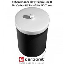 Carbonit Filtereinsatz RFP Premium D - Für Carbonit Reisefilter GO Travel