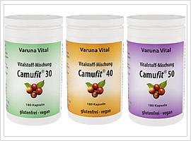 Sanavida Camufit Vitalstoffmischungen